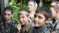 Pretending Their Families are Safe at Home, for a Brief Month Jewish Kids in Ukraine get to Behave Like Children