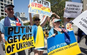 Australia's Ukrainian community is calling for more international action against Russian aggression