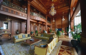 Inside one of the luxury mansions connected to Viktor Yanukovych.