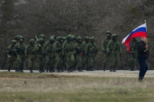 Pro-Russian separatist fighters at Eastern Ukraine