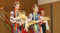 Dancers with Sudbury's Veselika School of Dance performed to a packed house at the Ukrainian National Federation hall Sunday. The performance was part of the 40th annual Ukrainian Yarmarok Festival. Photo by Jonathan Migneault.