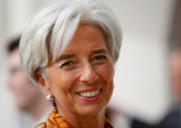 "The new aid program ""can represent a turning point for Ukraine,"" said Christine Lagarde, managing director of the I.M.F."