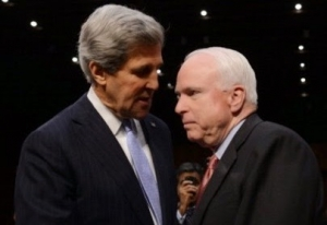 Kerry Tells Lawmakers He's For Arming Ukraine